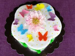 Schmetterling-Torte1
